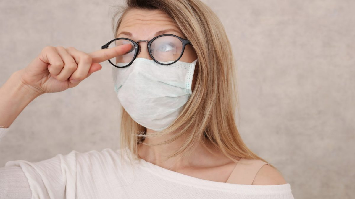 How to stop your glasses from fogging while wearing a mask